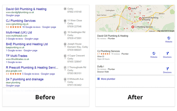 Local Search Pack Before And After