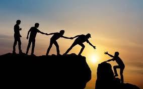 Trust Helping Across Crevass