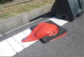 Hot Melted Traffic Cone